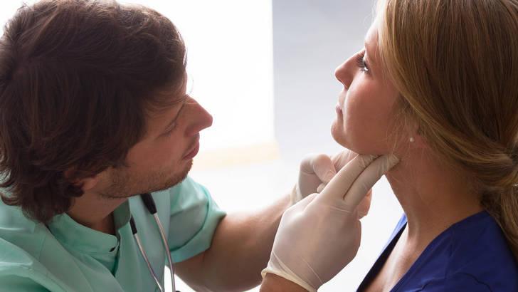 L'examen de la thyroide