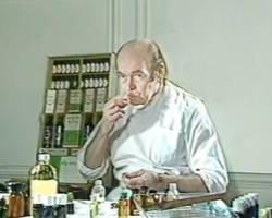 Le Dr Valent, inventeur du Tegarome
