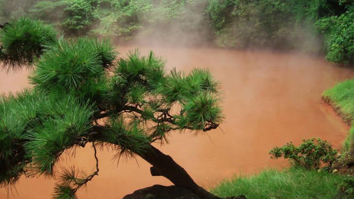 Les thermes de Beppu et les bains Yunohana