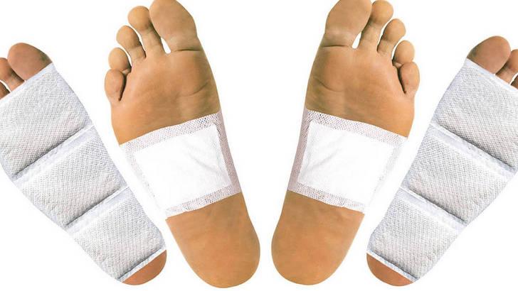 Des patchs pour se détoxiner par les pieds