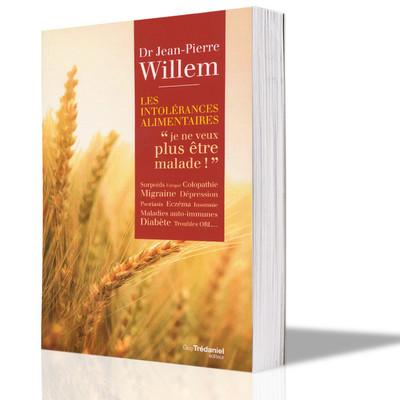 Intolérances alimentaires, le nouveau livre de JP Willem