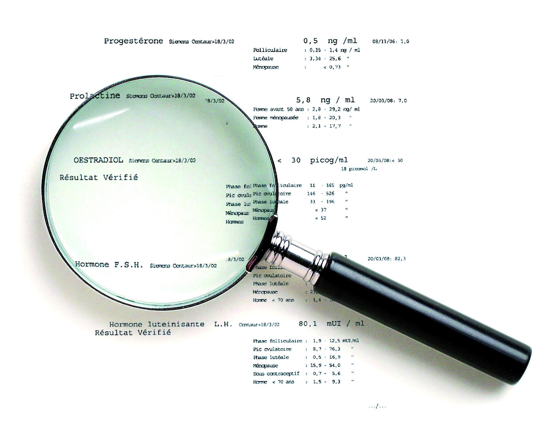 comprendre resultat hormonologie